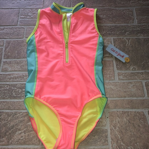 f75fd8bb4757b Cat & Jack Swim | Girls L 1012 Nwt Color Block One Piece | Poshmark
